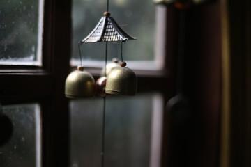 bell on window