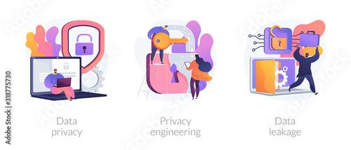 Database security software development Wallpaper Mural