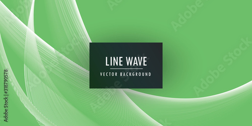 Abstract motion wave background Wallpaper Mural
