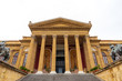 Italy, Sicily, Province of Palermo, Palermo. The Teatro Massimo opera house in Palermo.