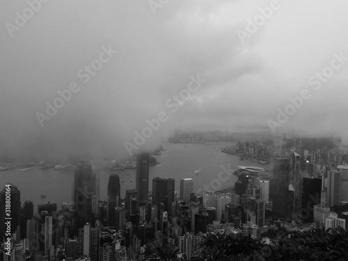Fototapety, obrazy: AERIAL VIEW OF CITY