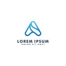 Letter A Logo Design Template Vector