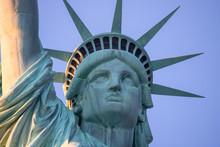 Statue Of Liberty Head Close Up