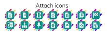 Attach Icon Set