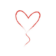 Hand Drawn Vector Love Heart S...