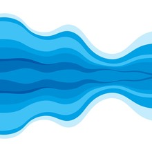 Abstract Water Wave Design Bac...