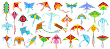 Flying Kite Vector Illustratio...