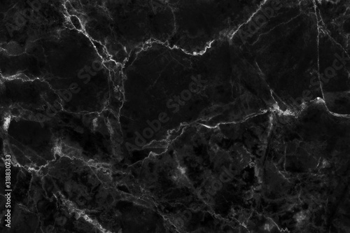 Black gray marble texture background with high resolution, counter top view of natural tiles stone in seamless glitter pattern and luxurious.