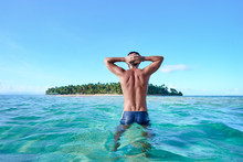 Holiday On The Beach. Back Vie...