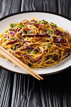 Asian Noodle Salad With Thinly...