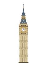 Big Ben Tower In London, UK, I...