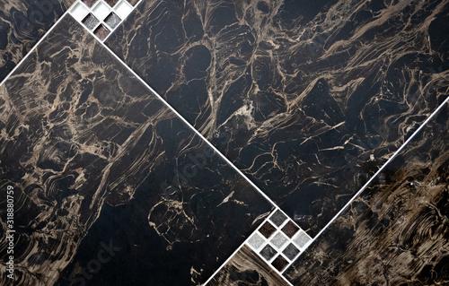 Ceramic tiles flooring - texture of natural ceramic floor Canvas Print