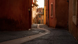 Fototapeta Uliczki - Rustrel, rural town in provence