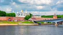 Great Novgorod Kremlin Walls A...