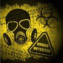 Poster Epidemic Grunge-style V...