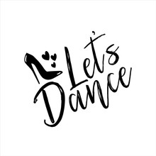 Let's Dance- Text With High-he...