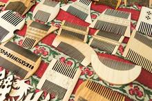 Closeup Of A Handmade Wooden C...