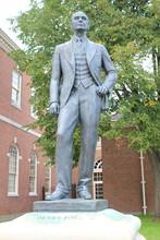 USA: Statue Von Henry Ford In Detroit (Michigan)