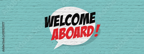 Photo Welcome aboard !