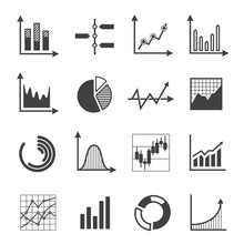 Graphs, Charts And Diagrams Gl...