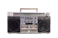 Retro Portable Stereo Radio Ca...