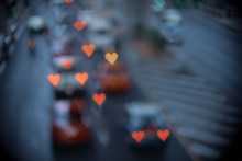 Heart-shaped Bokeh Of Lights F...