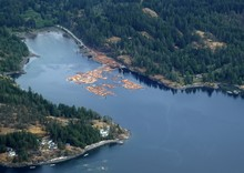 Aerial View Of A Bay North Of ...