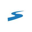 River Logo Template vector symbol