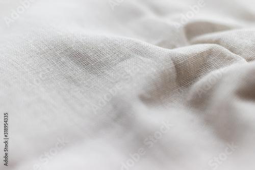Natural linen fabric texture Tableau sur Toile