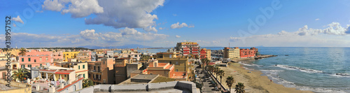 Photo PANORAMIC VIEW OF SEA AND BUILDINGS AGAINST SKY