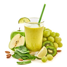 Freshly Blended Green Fruit Sm...