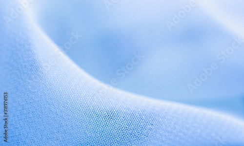 Close-Up Of Blue Textile - fototapety na wymiar