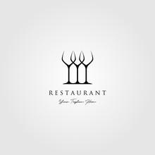Minimalist Three Glass Logo Re...