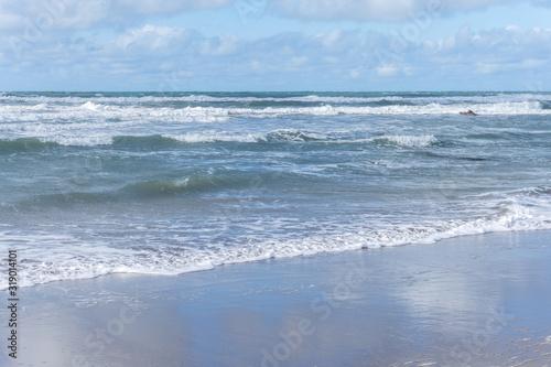 Widemouth Bay near Bude in Cornwall Canvas Print