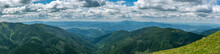Panoramic View On Low Tatras M...