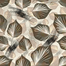Seamless Abstract Pattern. Lea...