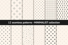 Set Of Minimalist Seamless Pat...
