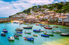 Fishing Port Of Mousehole Vill...