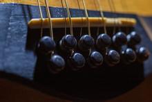 Taylor 12 String Guitar Bridge
