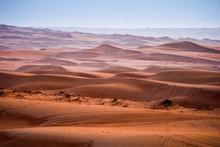 Desert Wahiba Sands In Oman