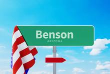 Benson – Arizona. Road Or To...