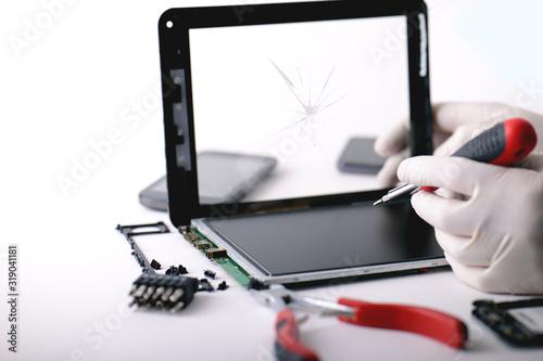 Photo Tablet danneggiato in ripazione