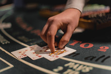 Roulette Table With Chips In C...