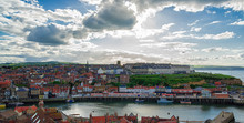 Coast Of North Sea In Whitby O...