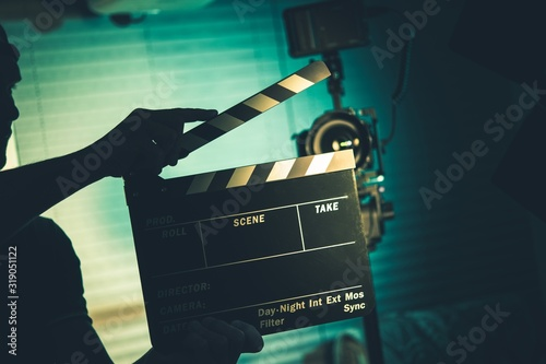 Canvas Print Video Film Production