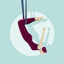 The Girl Hangs On The Trapeze ...