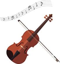バイオリン イラスト 演奏会