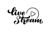 Live Stream - Vector Hand Draw...