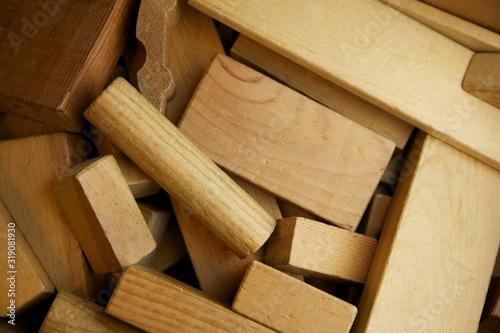 Fototapeta Full Frame Shot Of Wood obraz na płótnie