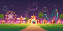 Carnival Funfair, Amusement Pa...